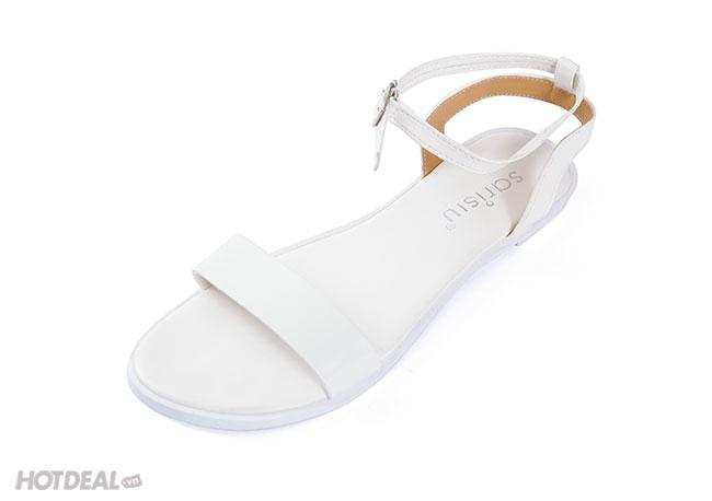 Giày Sandal Quai Ngang Đế Bằng TH Sarisiu