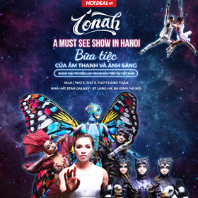 VÉ VỞ DIỄN IONAH – A MUST SEE SHOW IN HA NOI